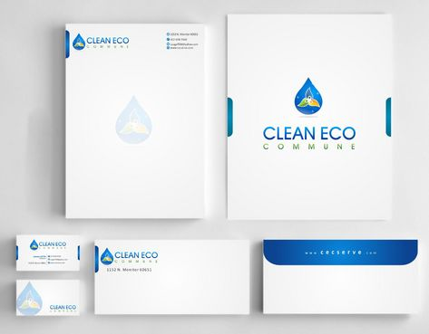 "Business moto is "" Making life clean and easy"" Business Cards and Stationery  Draft # 282 by Deck86"