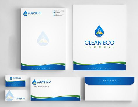 "Business moto is "" Making life clean and easy"" Business Cards and Stationery  Draft # 287 by Deck86"