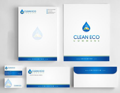 "Business moto is "" Making life clean and easy"" Business Cards and Stationery  Draft # 288 by Deck86"