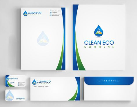 "Business moto is "" Making life clean and easy"" Business Cards and Stationery  Draft # 297 by Deck86"