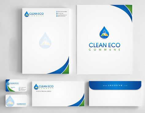 "Business moto is "" Making life clean and easy"" Business Cards and Stationery  Draft # 298 by Deck86"