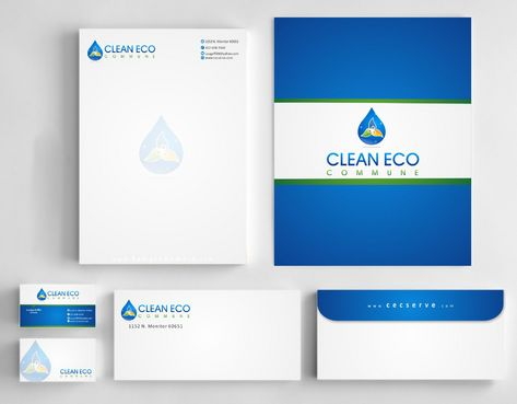 "Business moto is "" Making life clean and easy"" Business Cards and Stationery  Draft # 312 by Deck86"