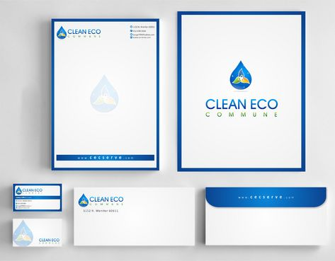 "Business moto is "" Making life clean and easy"" Business Cards and Stationery  Draft # 313 by Deck86"