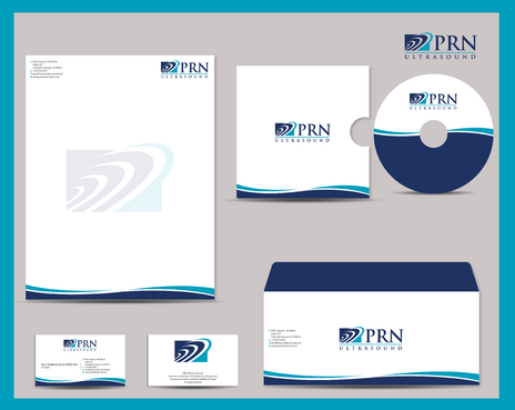 PRN Ultrasound Business Cards and Stationery  Draft # 300 by jpgart92