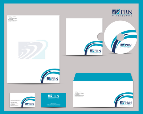 PRN Ultrasound Business Cards and Stationery  Draft # 302 by jpgart92
