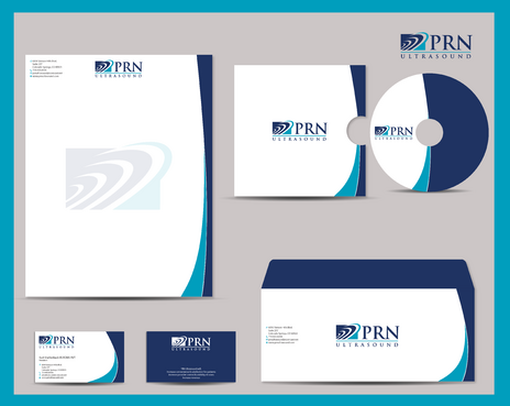 PRN Ultrasound Business Cards and Stationery  Draft # 303 by jpgart92