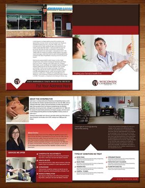 Wisconsin Chiropractic Center Marketing collateral  Draft # 2 by kapdesigner