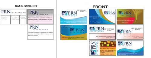 PRN Ultrasound Business Cards and Stationery  Draft # 310 by zohaibanisscala
