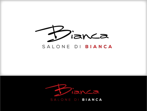 Salone di Bianca Logo Winning Design by markm99207