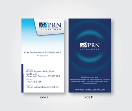PRN Ultrasound Business Cards and Stationery  Draft # 317 by jajakpost