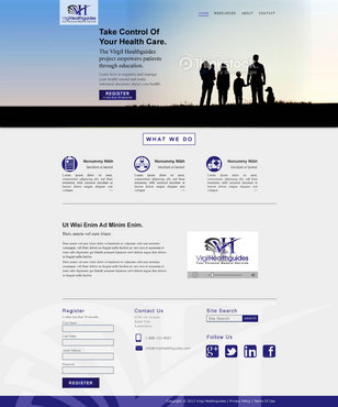Your Personal Medical Records Complete Web Design Solution  Draft # 66 by ennweb