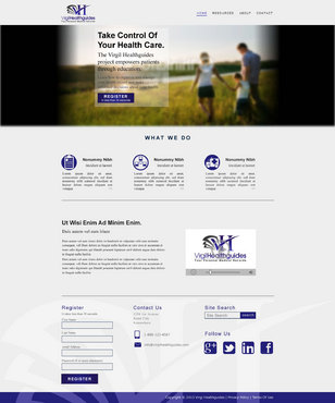 Your Personal Medical Records Complete Web Design Solution  Draft # 67 by ennweb