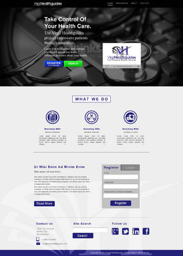 Your Personal Medical Records Complete Web Design Solution  Draft # 68 by ennweb