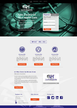 Your Personal Medical Records Complete Web Design Solution  Draft # 69 by ennweb