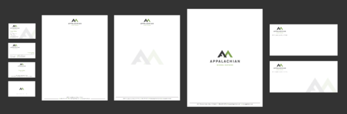 Appalachian Mineral Partners Business Cards and Stationery Winning Design by Xpert