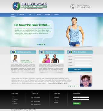 The Fountain Complete Web Design Solution  Draft # 18 by xclusivedesigns