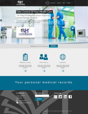 Your Personal Medical Records Complete Web Design Solution  Draft # 84 by ennweb