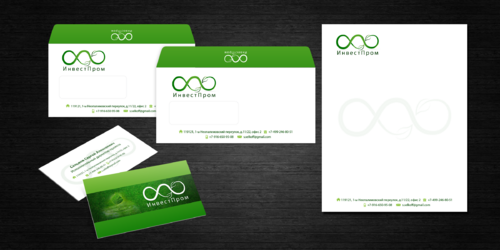 "ООО ""ИнвестПром"" Business Cards and Stationery  Draft # 22 by decentdesign"