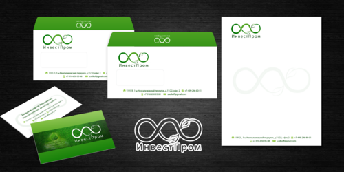 "ООО ""ИнвестПром"" Business Cards and Stationery  Draft # 23 by decentdesign"