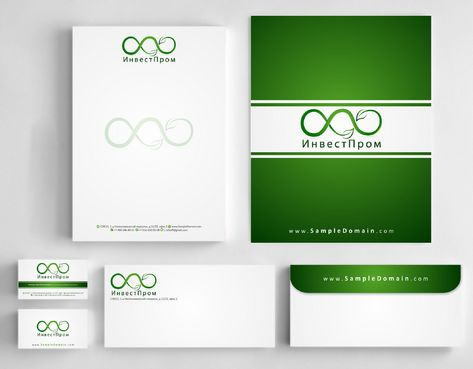 "ООО ""ИнвестПром"" Business Cards and Stationery  Draft # 182 by Deck86"