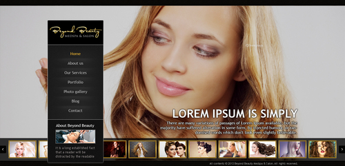 Beyond Beauty Medspa & Salon Complete Web Design Solution  Draft # 3 by timefortheweb
