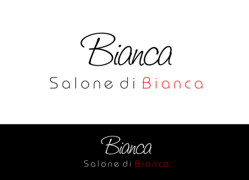 Salone di Bianca A Logo, Monogram, or Icon  Draft # 596 by Miroslav