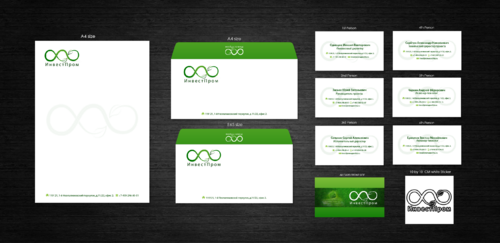 "ООО ""ИнвестПром"" Business Cards and Stationery Winning Design by decentdesign"