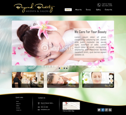 Beyond Beauty Medspa & Salon Complete Web Design Solution  Draft # 15 by xclusivedesigns