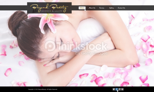 Beyond Beauty Medspa & Salon Complete Web Design Solution  Draft # 46 by xclusivedesigns