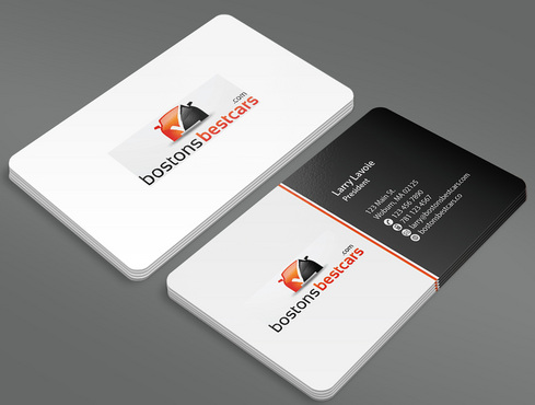 bostonsbestcars.com Business Cards and Stationery  Draft # 14 by ArtworksKingdom