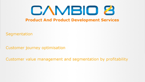 CAMBIO 8 Consultancy and freelance services  Marketing collateral  Draft # 3 by shozabhasan959