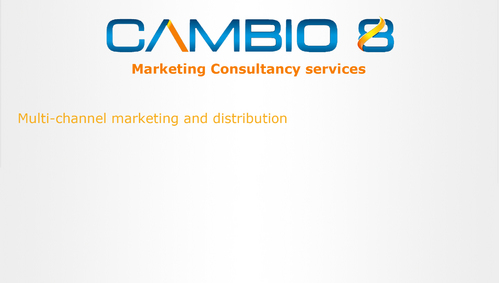 CAMBIO 8 Consultancy and freelance services  Marketing collateral  Draft # 4 by shozabhasan959