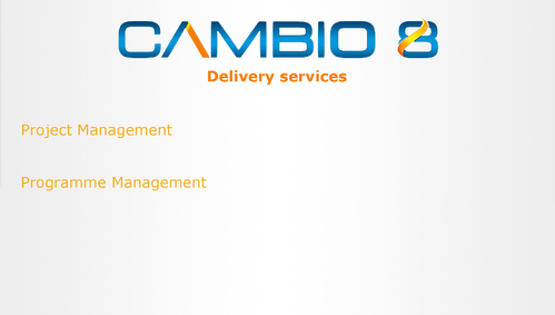 CAMBIO 8 Consultancy and freelance services  Marketing collateral  Draft # 5 by shozabhasan959