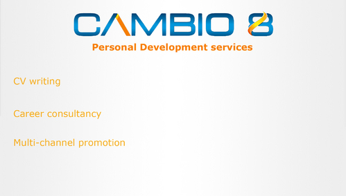 CAMBIO 8 Consultancy and freelance services  Marketing collateral  Draft # 7 by shozabhasan959