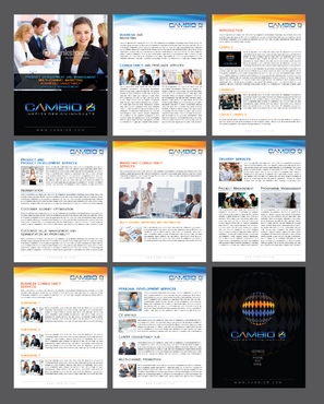 CAMBIO 8 Consultancy and freelance services  Marketing collateral  Draft # 9 by Achiver