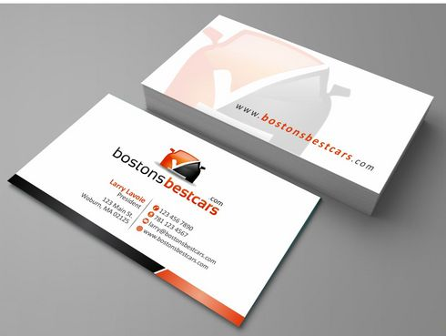bostonsbestcars.com Business Cards and Stationery  Draft # 187 by Deck86