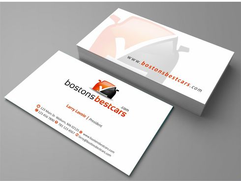 bostonsbestcars.com Business Cards and Stationery  Draft # 215 by Deck86