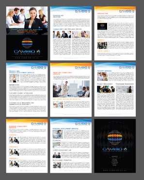 CAMBIO 8 Consultancy and freelance services  Marketing collateral  Draft # 10 by Achiver