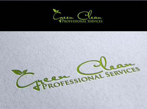 Green Clean Professional Services A Logo, Monogram, or Icon  Draft # 5 by valiWORK