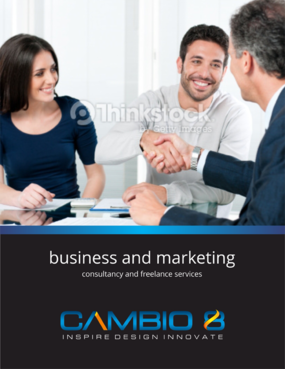 CAMBIO 8 Consultancy and freelance services  Marketing collateral  Draft # 19 by barinix