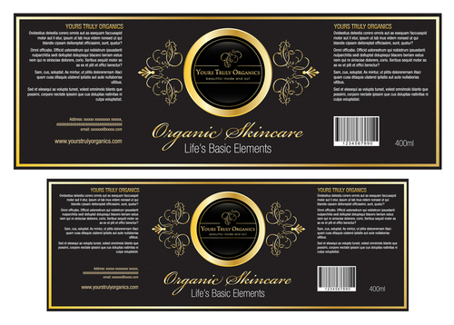 Yours Truly Organics Marketing collateral  Draft # 2 by destudio