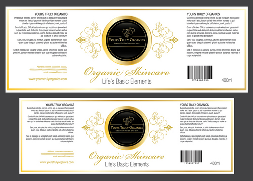Yours Truly Organics Marketing collateral  Draft # 3 by destudio