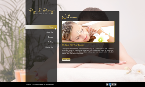 Beyond Beauty Medspa & Salon Complete Web Design Solution  Draft # 55 by xclusivedesigns