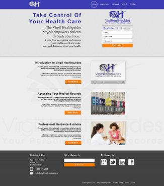 Your Personal Medical Records Complete Web Design Solution  Draft # 104 by ennweb