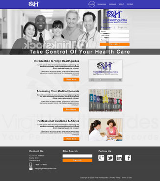 Your Personal Medical Records Complete Web Design Solution  Draft # 106 by ennweb