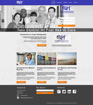 Your Personal Medical Records Complete Web Design Solution  Draft # 107 by ennweb