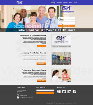 Your Personal Medical Records Complete Web Design Solution  Draft # 108 by ennweb