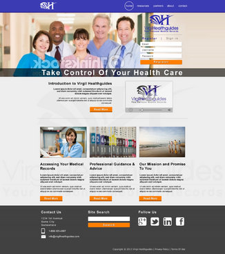 Your Personal Medical Records Complete Web Design Solution  Draft # 109 by ennweb