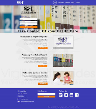 Your Personal Medical Records Complete Web Design Solution  Draft # 110 by ennweb