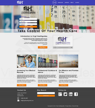 Your Personal Medical Records Complete Web Design Solution  Draft # 111 by ennweb
